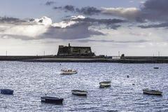 βάρκες μόνες Στοκ εικόνες με δικαίωμα ελεύθερης χρήσης