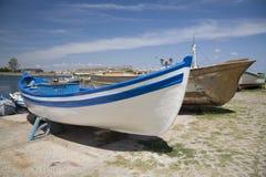 βάρκες ξύλινες στοκ εικόνα