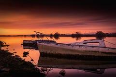 βάρκες παλαιές Στοκ Εικόνα