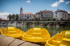 Βάρκες πενταλιών Tomar Στοκ εικόνες με δικαίωμα ελεύθερης χρήσης