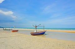 βάρκες που αλιεύουν Ταϊλανδό Στοκ εικόνες με δικαίωμα ελεύθερης χρήσης