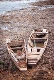 βάρκες που αποσύρονται Στοκ φωτογραφίες με δικαίωμα ελεύθερης χρήσης