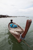 βάρκες που αλιεύουν την Ταϊλάνδη Στοκ εικόνες με δικαίωμα ελεύθερης χρήσης