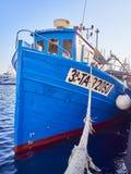 Βάρκες που δένονται στο λιμάνι αλιείας Palamos girona Ισπανία στοκ φωτογραφία με δικαίωμα ελεύθερης χρήσης