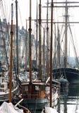βάρκες που ελλιμενίζονται Στοκ φωτογραφία με δικαίωμα ελεύθερης χρήσης