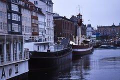 Βάρκες σε στάση Στοκ Εικόνα