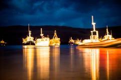 Βάρκες σε Portree Στοκ φωτογραφία με δικαίωμα ελεύθερης χρήσης