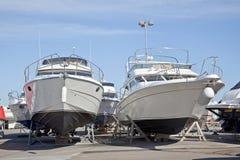 Βάρκες στην ακτή Στοκ φωτογραφία με δικαίωμα ελεύθερης χρήσης