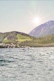 Βάρκες στην ακτή Στοκ Φωτογραφία