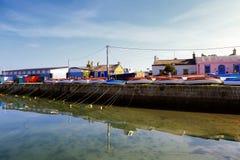 Βάρκες στην αποβάθρα Στοκ Εικόνες