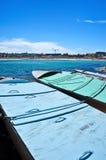 Βάρκες στην παραλία Bondi, Σίδνεϊ, Αυστραλία Στοκ εικόνα με δικαίωμα ελεύθερης χρήσης