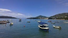 Βάρκες στη θάλασσα στοκ φωτογραφίες με δικαίωμα ελεύθερης χρήσης