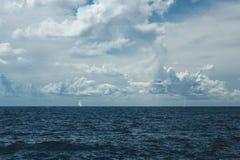 Βάρκες στη θάλασσα Στοκ Εικόνες