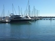 Βάρκες στον κόλπο Στοκ Φωτογραφίες