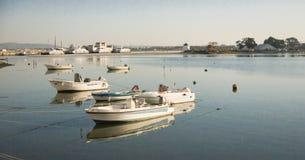 Βάρκες στον ποταμό Στοκ Εικόνες