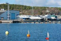 Βάρκες στο έδαφος Στοκ φωτογραφίες με δικαίωμα ελεύθερης χρήσης