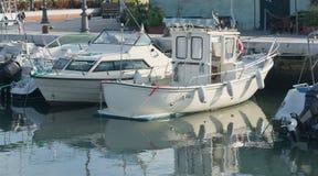 Βάρκες στο αγκυροβόλιο Στοκ Φωτογραφία