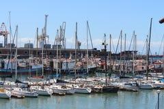 Βάρκες στο λιμάνι Στοκ Εικόνα