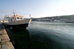 Βάρκες στο λιμένα Στοκ Εικόνες