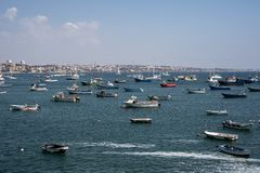 Βάρκες στο λιμάνι στοκ εικόνα με δικαίωμα ελεύθερης χρήσης