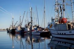 Βάρκες στο νερό Στοκ Φωτογραφία