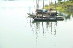 Βάρκες στο ύδωρ Στοκ Εικόνες