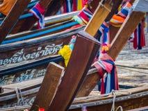 βάρκες Ταϊλανδός Στοκ φωτογραφία με δικαίωμα ελεύθερης χρήσης