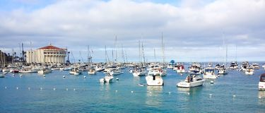Βάρκες του κόλπου Avalon στοκ φωτογραφία με δικαίωμα ελεύθερης χρήσης