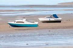 βάρκες δύο Στοκ Φωτογραφίες