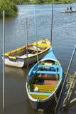 Βάρκες Avieiros Στοκ εικόνα με δικαίωμα ελεύθερης χρήσης