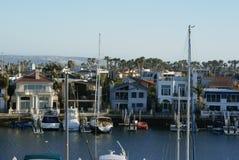 Βάρκες Coronado που δένονται Στοκ Φωτογραφίες