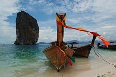 βάρκες longtail Στοκ φωτογραφία με δικαίωμα ελεύθερης χρήσης