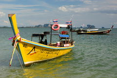 Βάρκες Longtail Koh mook Ταϊλάνδη Στοκ εικόνα με δικαίωμα ελεύθερης χρήσης