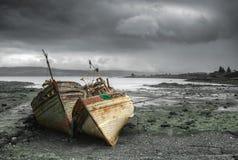 Βάρκες Mull Στοκ Φωτογραφία