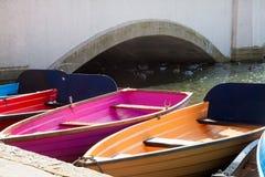 Βάρκες Rowinng Στοκ εικόνα με δικαίωμα ελεύθερης χρήσης