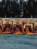 Βάρκες Trajinera σε Xochimilco, Μεξικό Στοκ εικόνες με δικαίωμα ελεύθερης χρήσης