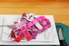 βάρος γεύματος απώλεια&sigmaf Στοκ Εικόνα