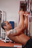 βάρος κατάρτισης γυμναστ στοκ φωτογραφία με δικαίωμα ελεύθερης χρήσης