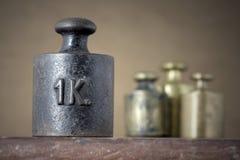 βάρος σιδήρου Στοκ φωτογραφία με δικαίωμα ελεύθερης χρήσης