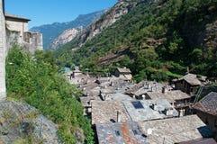 Βάρδος, η κοιλάδα Aosta, Ιταλία, Ευρώπη Στοκ Φωτογραφίες