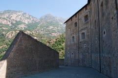 Βάρδος, η κοιλάδα Aosta, Ιταλία, Ευρώπη Στοκ Εικόνες