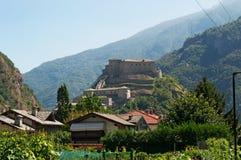 Βάρδος, η κοιλάδα Aosta, Ιταλία, Ευρώπη Στοκ εικόνες με δικαίωμα ελεύθερης χρήσης