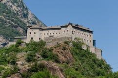 Βάρδος οχυρών, κοιλάδα Aosta Στοκ Εικόνες
