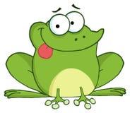 βάτραχος ευτυχής απεικόνιση αποθεμάτων