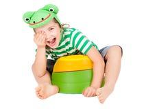 Βάτραχος παιδιών Στοκ φωτογραφία με δικαίωμα ελεύθερης χρήσης