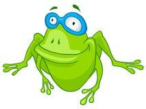βάτραχος χαρακτήρα κινο&upsilo Στοκ Εικόνα