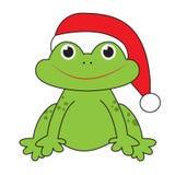 Βάτραχος Χριστουγέννων Στοκ εικόνες με δικαίωμα ελεύθερης χρήσης
