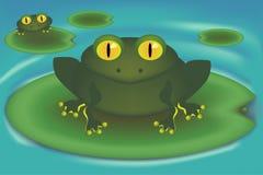βάτραχος ελεύθερη απεικόνιση δικαιώματος