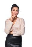 Βέβαια επιτυχής επιχειρησιακή γυναίκα Στοκ εικόνα με δικαίωμα ελεύθερης χρήσης