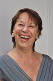 Βέβαια ηλικιωμένη γυναίκα Στοκ Εικόνες